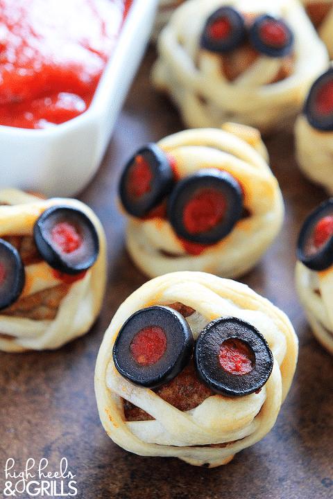 meatball mummies