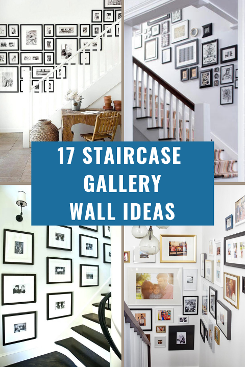 staircase gallery wall ideas