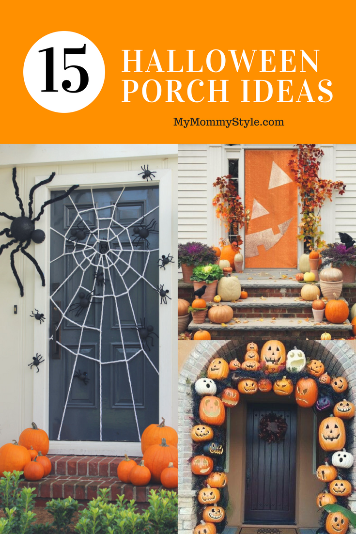 fun halloween porch decorating ideas - my mommy style