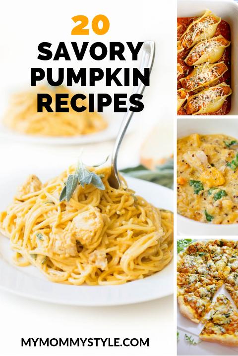 savory pumpkin recipes