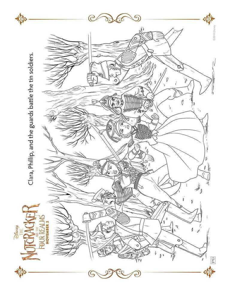 Free Ballerina Nutcracker Coloring Page, Download Free Clip Art ...   993x768