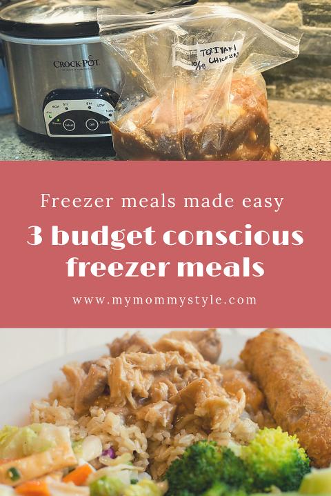 budget conscious freezer meals