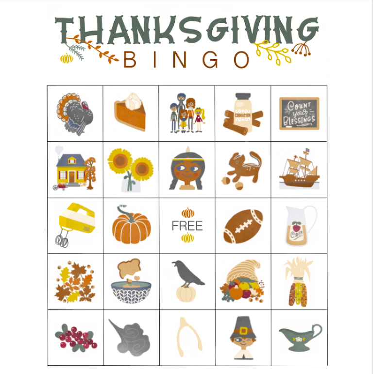 picture relating to Thanksgiving Bingo Printable identify Absolutely free printable Thanksgiving Bingo - My Mommy Style and design