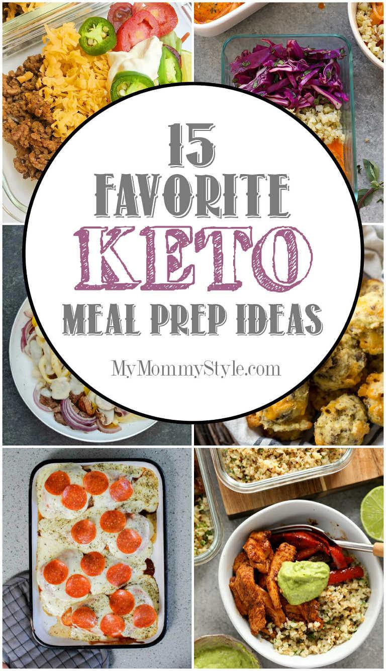 15 favorite Keto Meal Prep Ideas