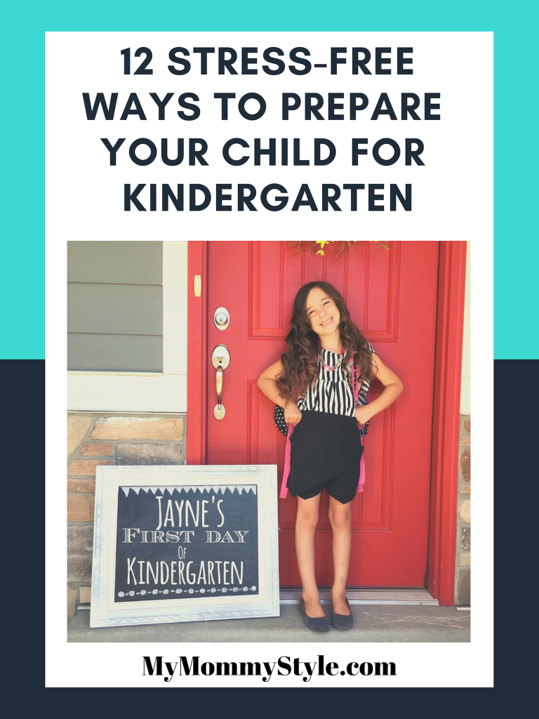 12 Stress-Free ways to prepare your child for kindergarten