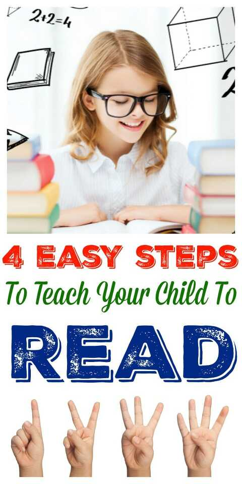 4 Easy Steps To Teach Your Child To Read