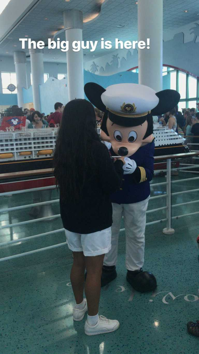 Disney Cruise Packing List Mickey Captain