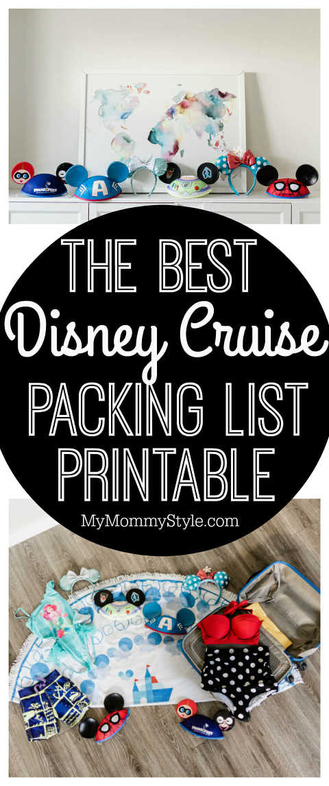 Disney Cruise, Disney Cruise packing list, cruise packing list, free disney printable