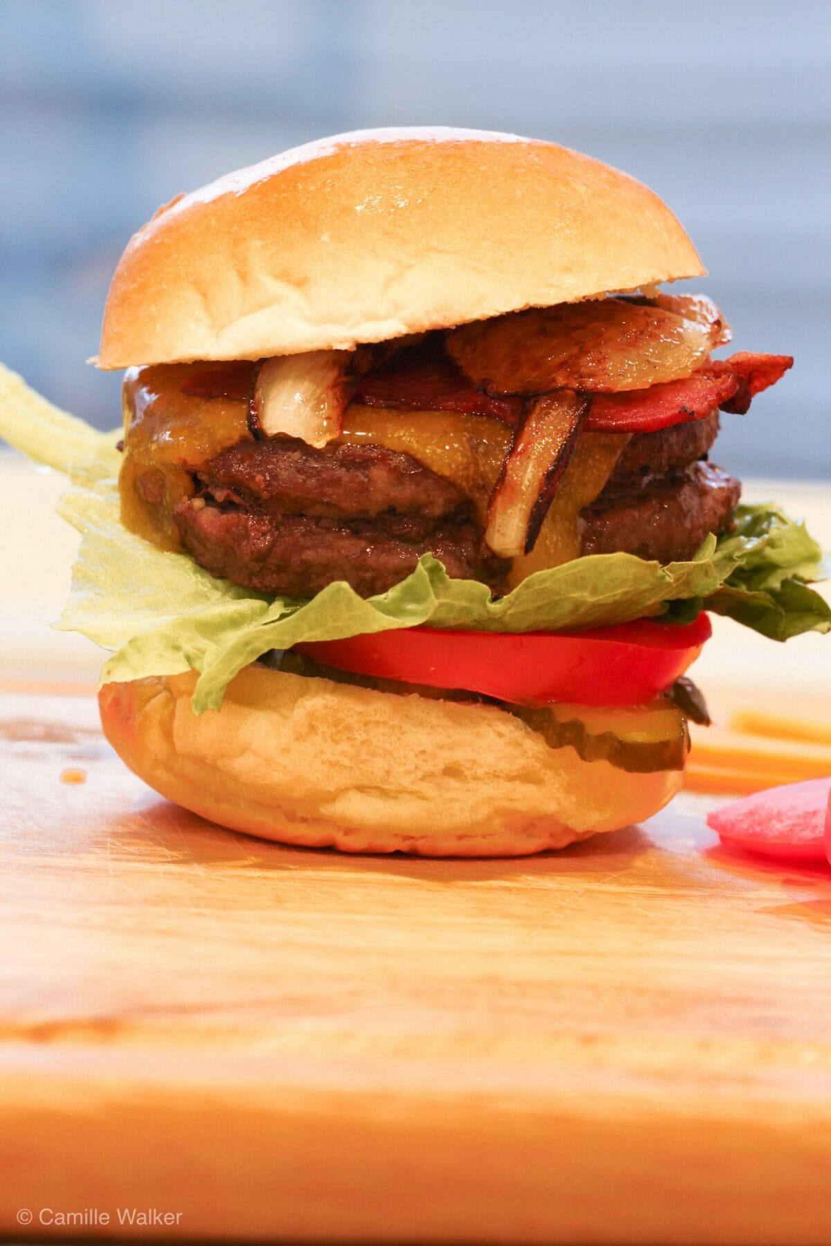 Air Fryer Burger