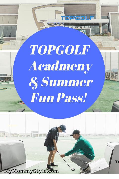 Topgolf Academy and Summer fun Pass