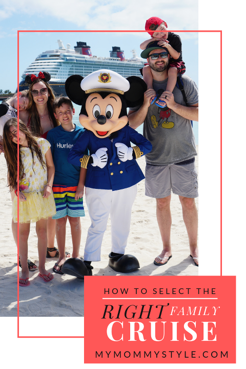 How to choose the right cruise for your family