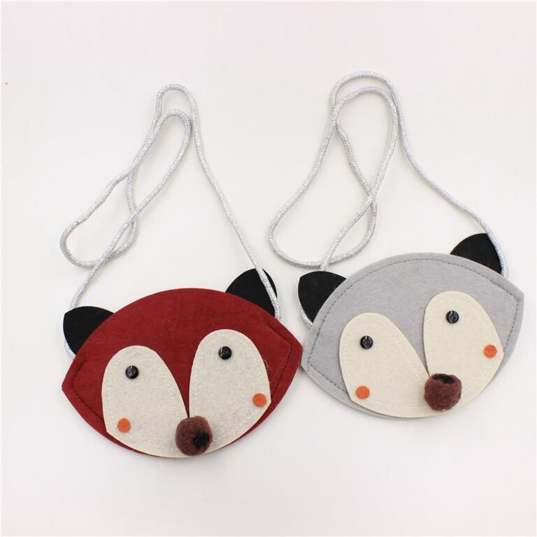 Felt fox that you kids can sew