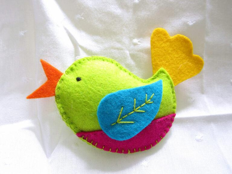 Sew a bird