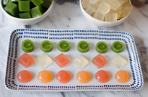 Fruit snacks to make with the kids