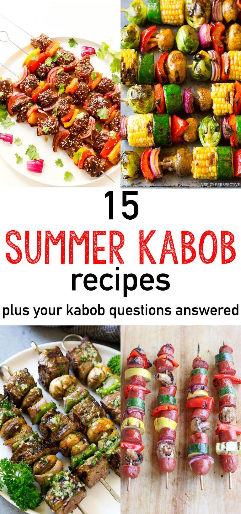 Summer kabobs