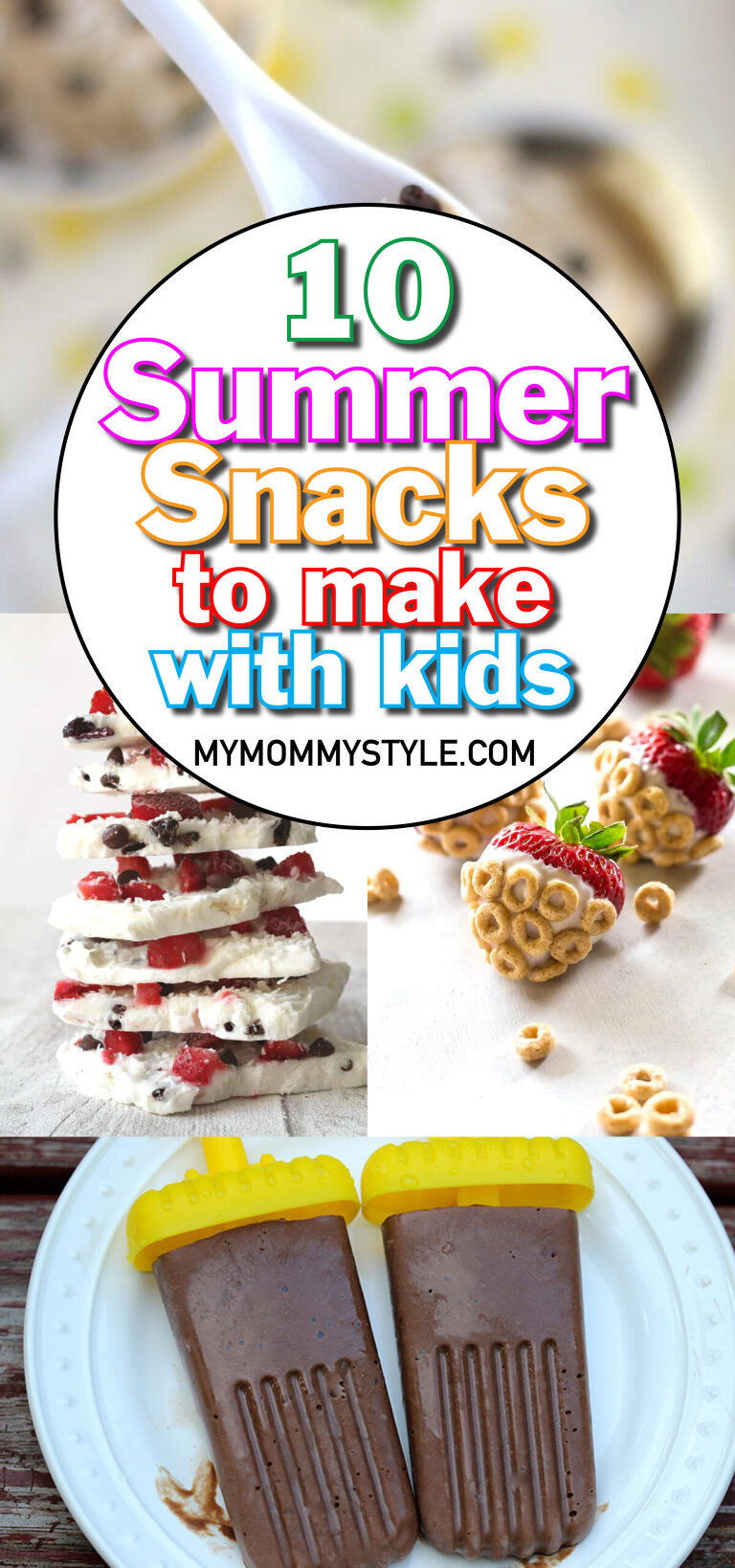 Summer snacks to make with kids