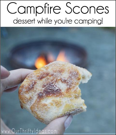 Campfire scones