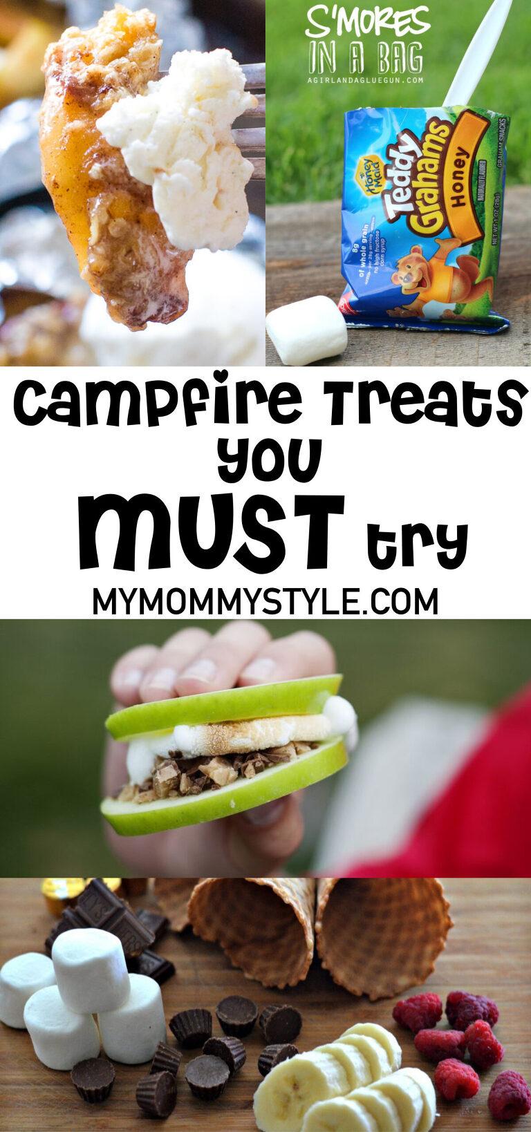 Yummy Campfire Treats to make while camping
