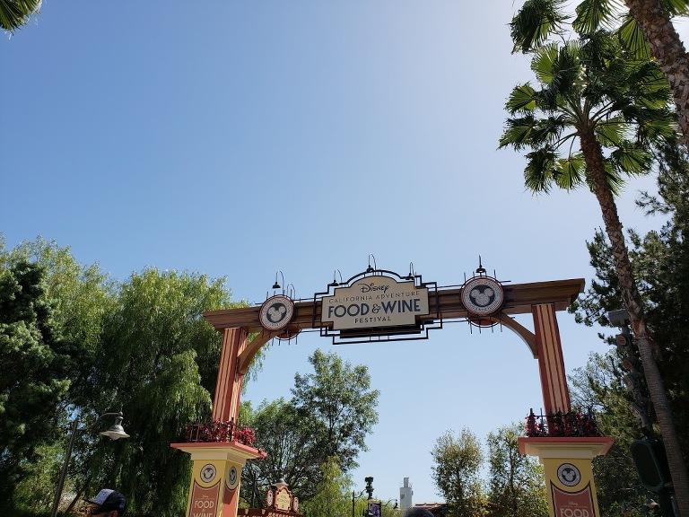 Disney's food and wine festival