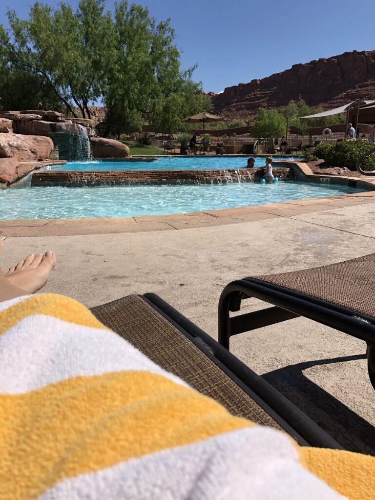 The pool at Entrada, St George