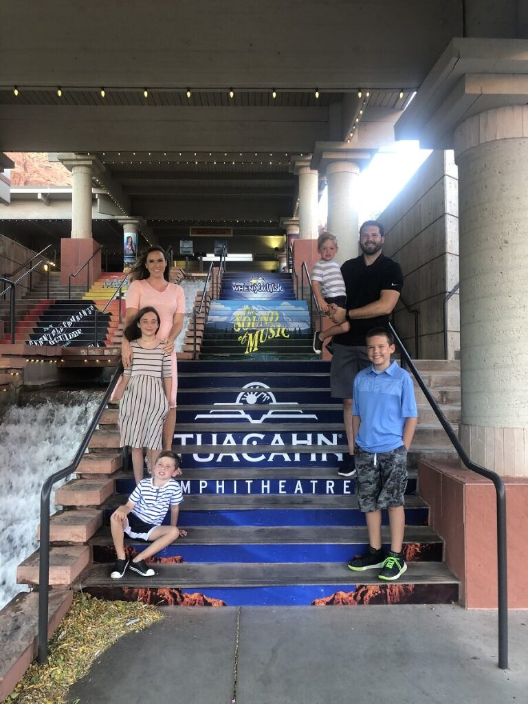 Tuacahn is a family event