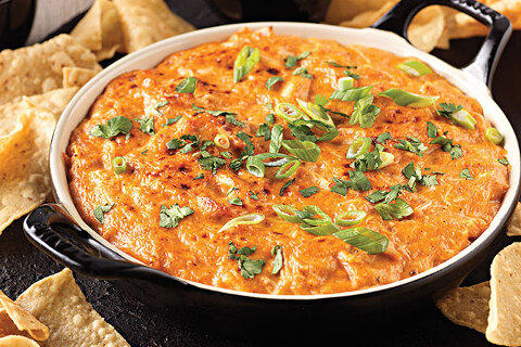 BBQ chicken dip for chips