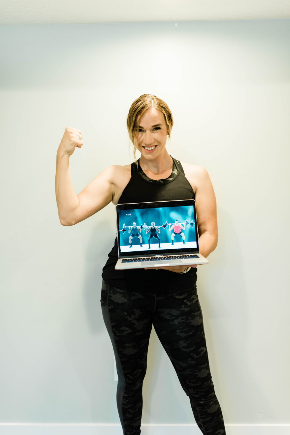 Workout with LES MILLS via @mymommystyle