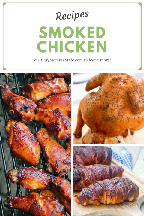recipes for smoked chicken