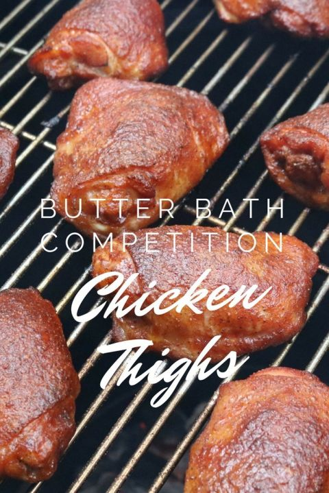 Butter Bath competition chicken wings