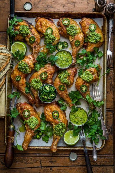 Smoked paprika chicken legs