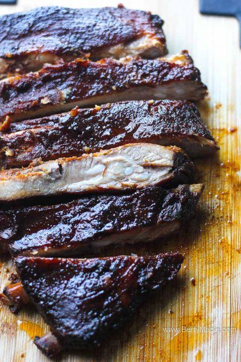 st. louis ribs, smoked
