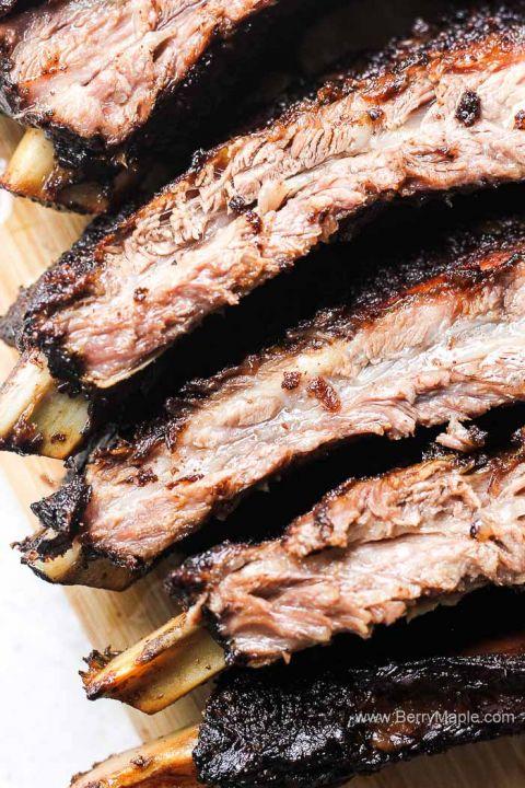 juicy and tender beef ribs