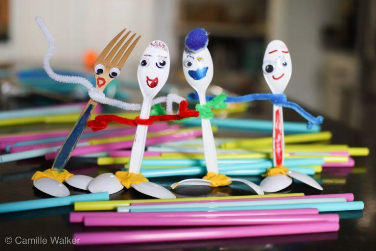 Kids Craft - Forky