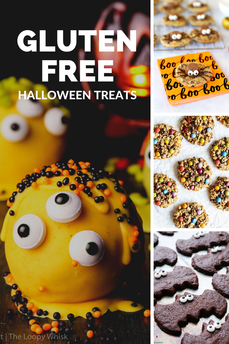 This list of Halloween treats are all gluten free and will be a huge hit at your Halloween party. There's even a few that will use left over Halloween candy via @mymommystyle