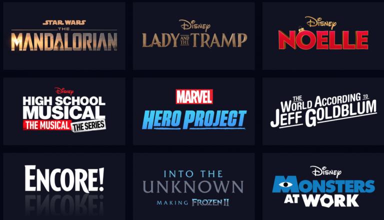 The newest streaming service, DisneyPlus