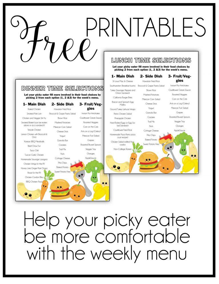 picky eater foods