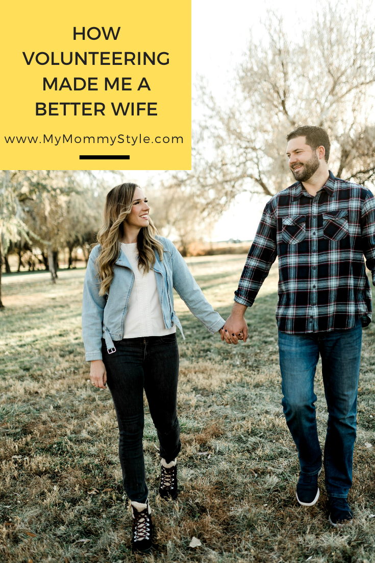 Volunteering made me a better wife. Find simple ways to reconnect with your purpose and community. #volunteer #sharethegood via @mymommystyle