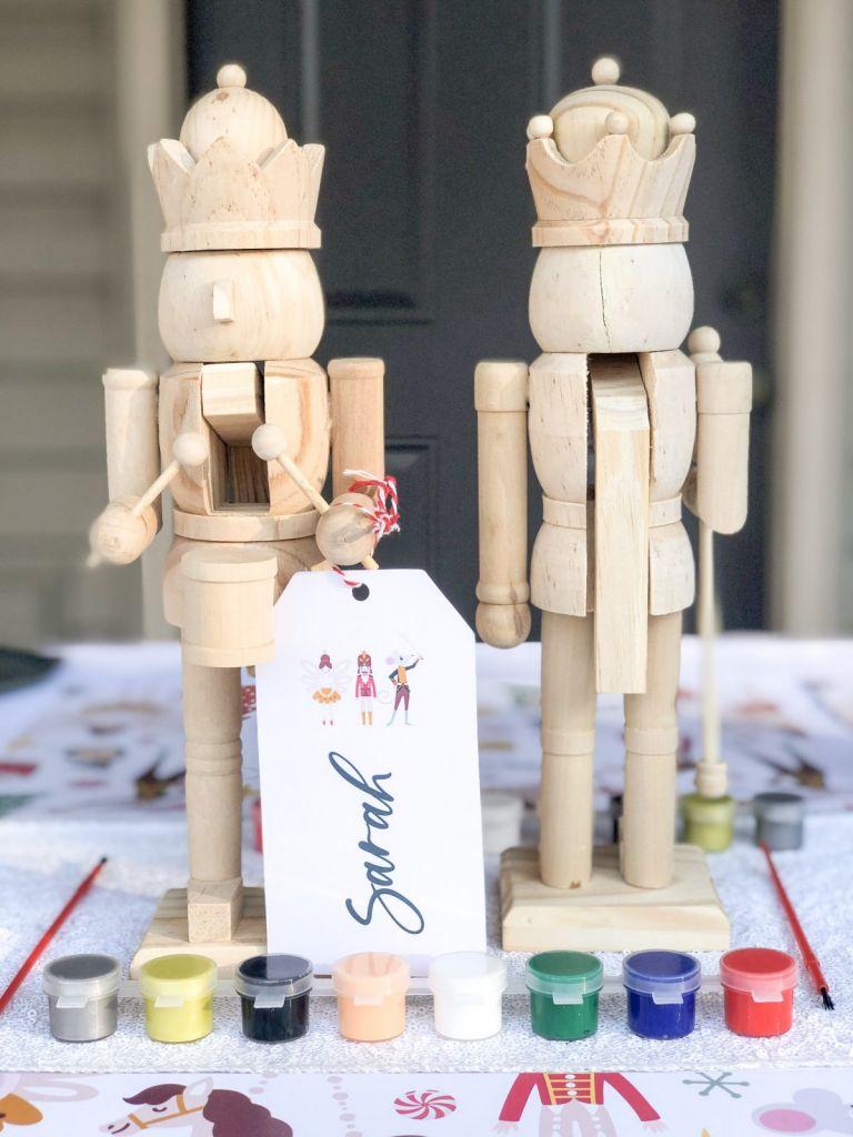 Nutcracker party, nutcracker craft idea