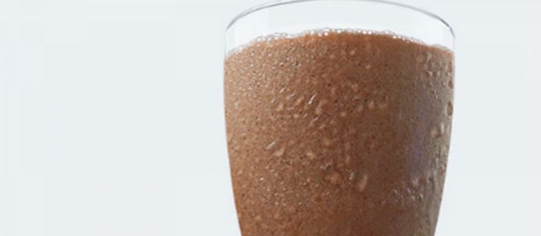 Chocolate banana nutter shakeology smoothie