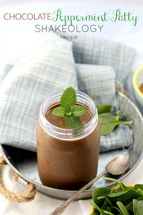 Chocolate Peppermint Patty Shakeology