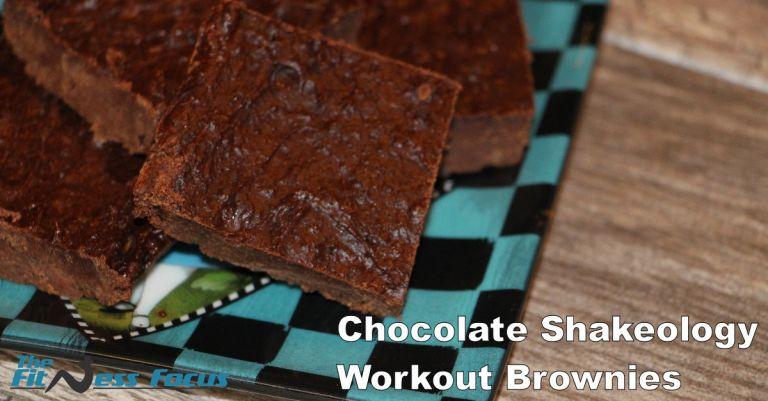Chocolate Shakeology Workout Brownies