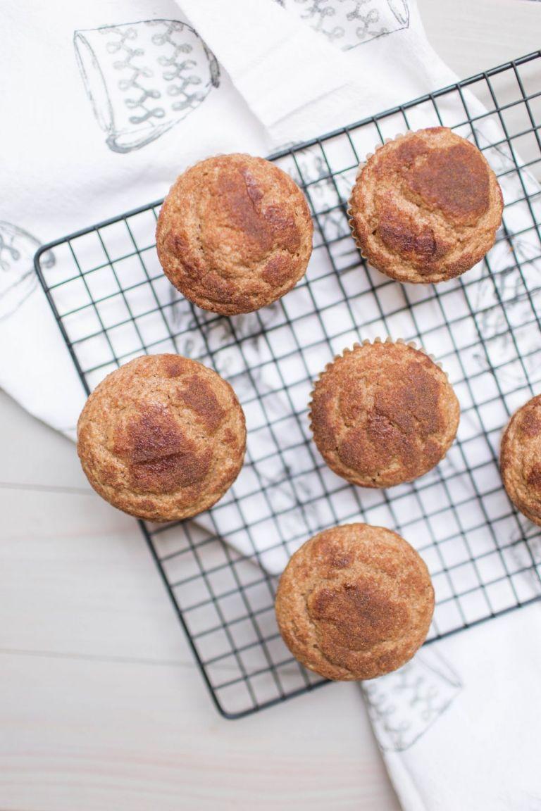cinnamon sugar muffins with kodiak cakes
