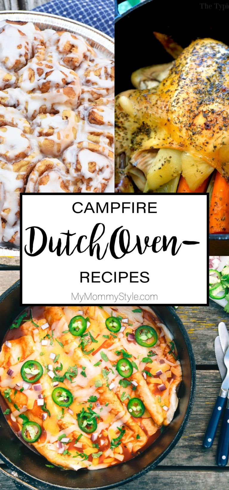 Dutch Oven Camping Recipes My Mommy Style