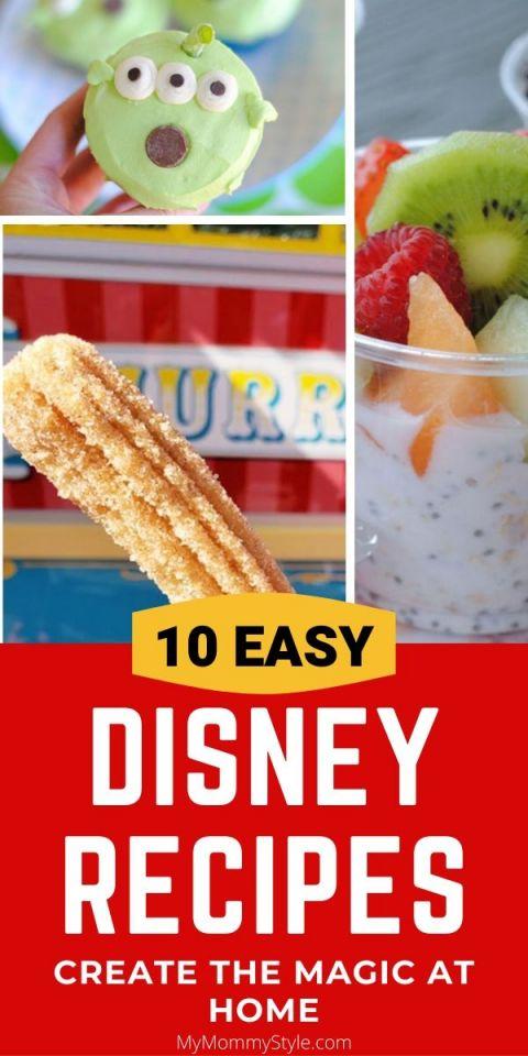 Disney, Disney Treats, Disney recipe, disney recipes