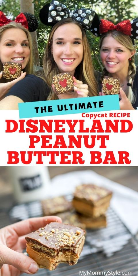 Disneyland Peanut Butter Bar