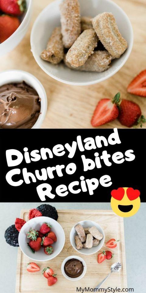 Disneyland Churro bites recipe
