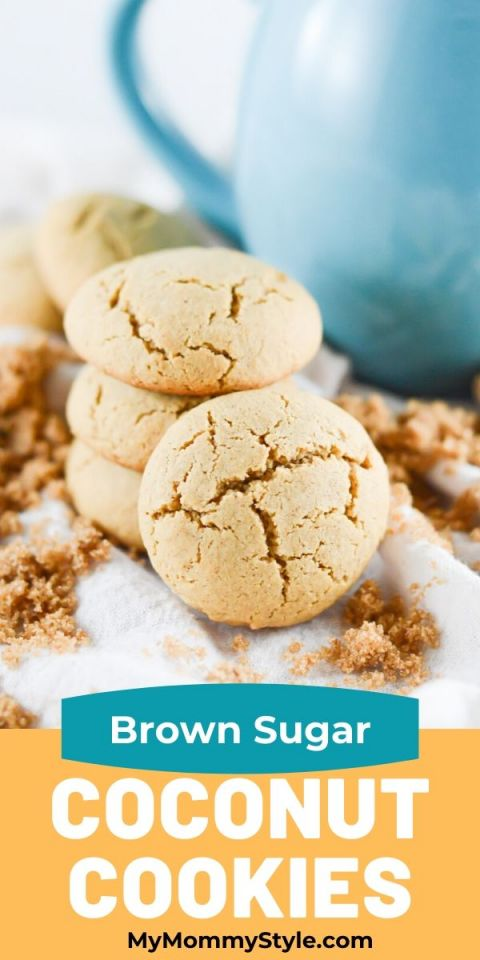 Brown Sugar Coconut Cookies, Gluten Free