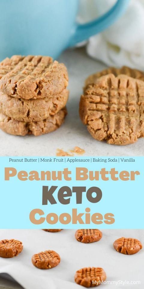 Peanut Butter Keto Cookies