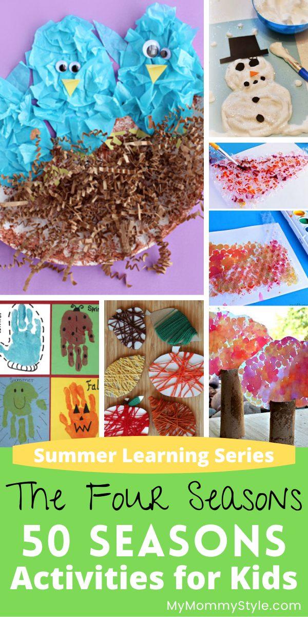 50 Seasons Activities for Kids
