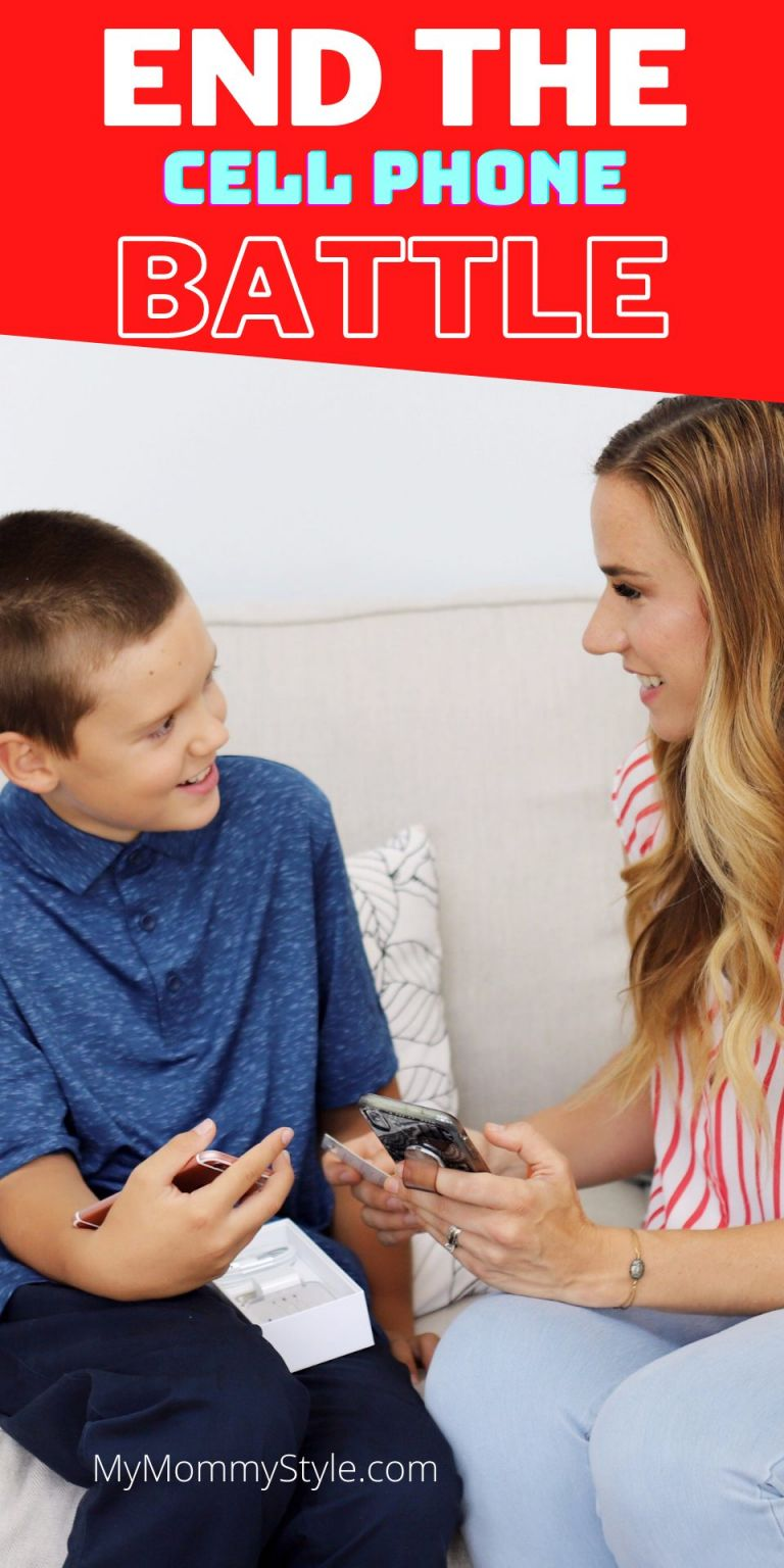 Create a healthy balance with cell phones for your kids